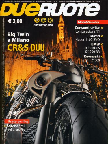 CR&S DUU by Donato Cannatello su Due Ruote (a)