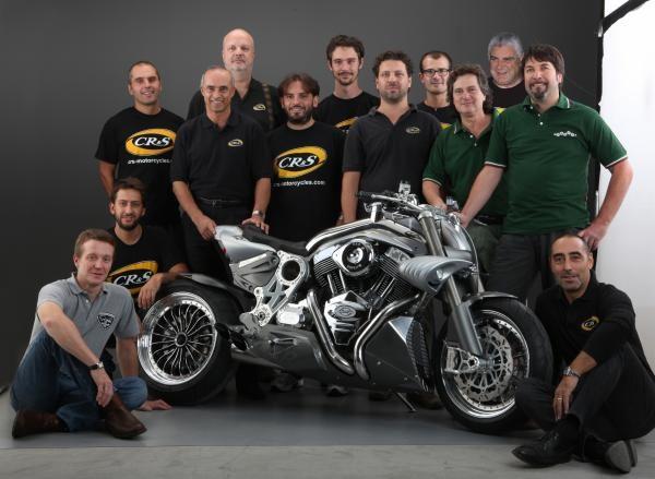 Con il Team CR&S 2009
