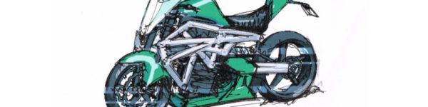 ELEC Moto elettrica design concept