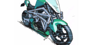 ELEC electric concept design Moto