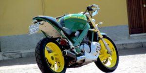 Moto personnalisée Milan