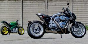 Custom Motorcycle Milan