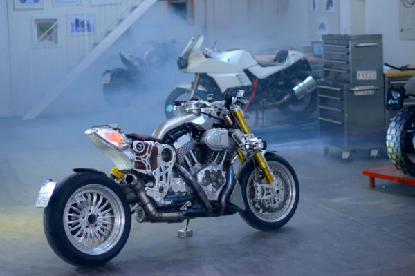 GIVEN CR&S DUU Custom motorcycle moto custom milano