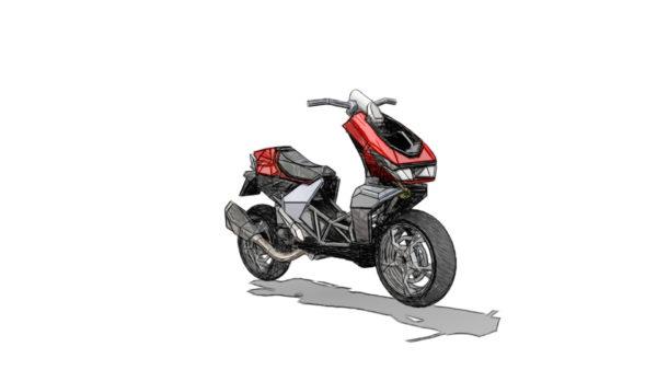 Italjet Dragster Concept (2)