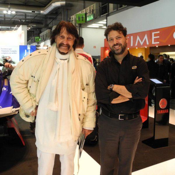 Luigi Colani e Donato Cannatello