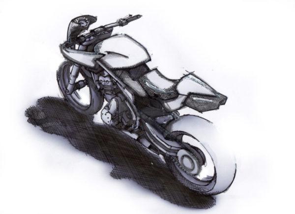 NAC摩托的设计理念