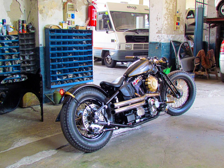 Samurai Chopper Custom per Officine Riunite Milanesi moto custom milano