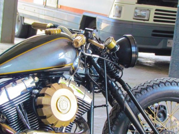 Samurai Chopper Given Officine Riunite Milanesi