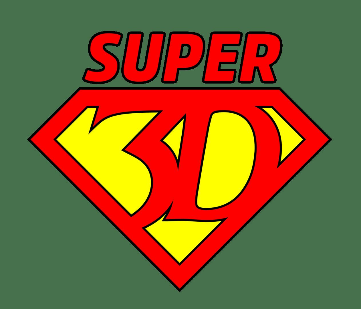 Super3D logo