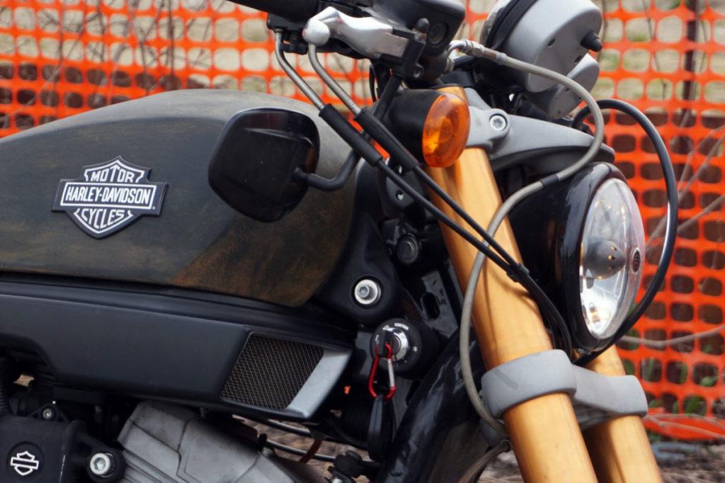 Harley Davidson XR 1200 finitura UNPAINT