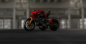 ducati monster tractor design