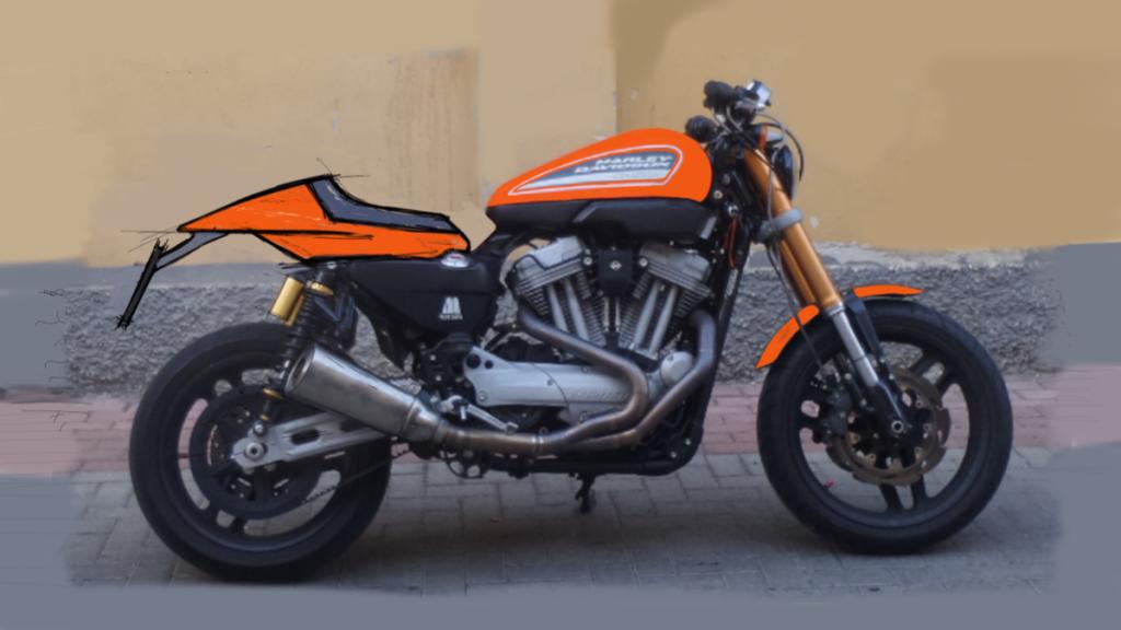 Harley Davidson XR 1200 Style Design