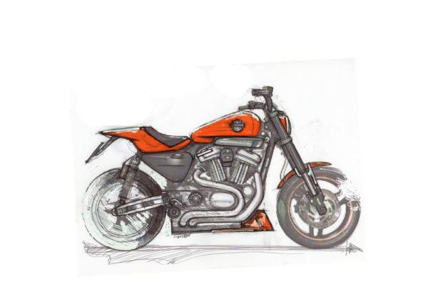 Harley Davidson XR1200 concept
